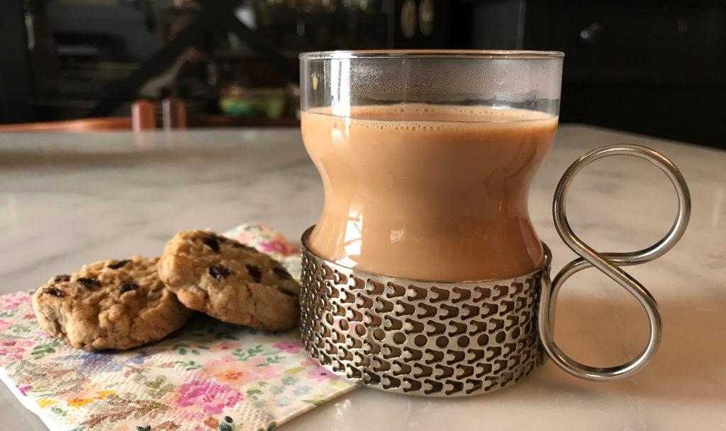 chai and garam masala oatmeal raisin cookies