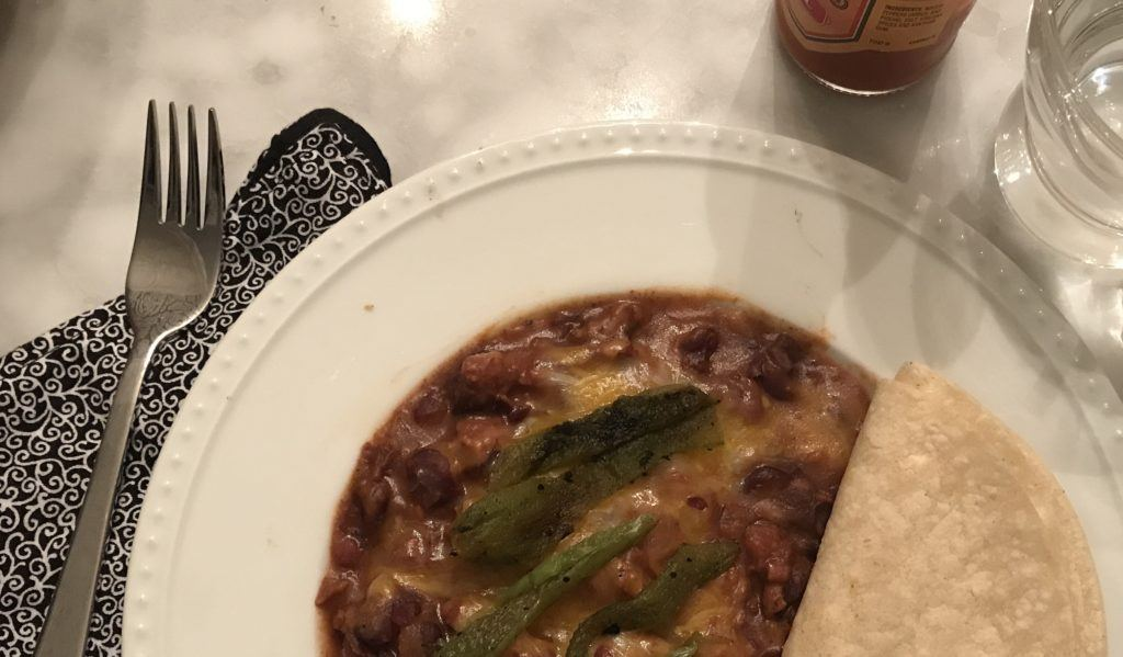 soldado with roasted jalapeno, tortilla and hotsauce