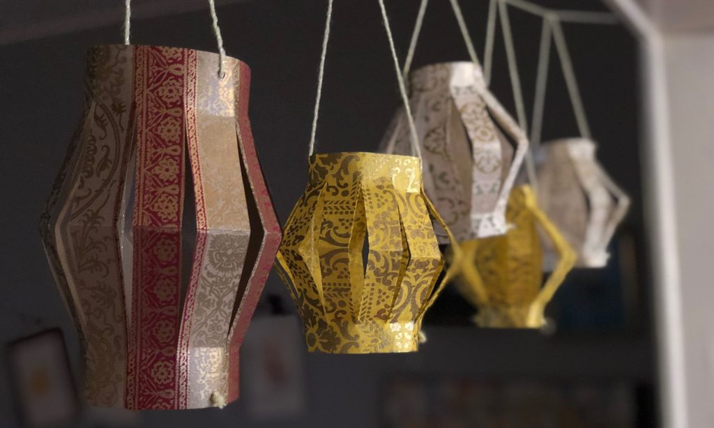 homemade lanterns to celebrate ramadan