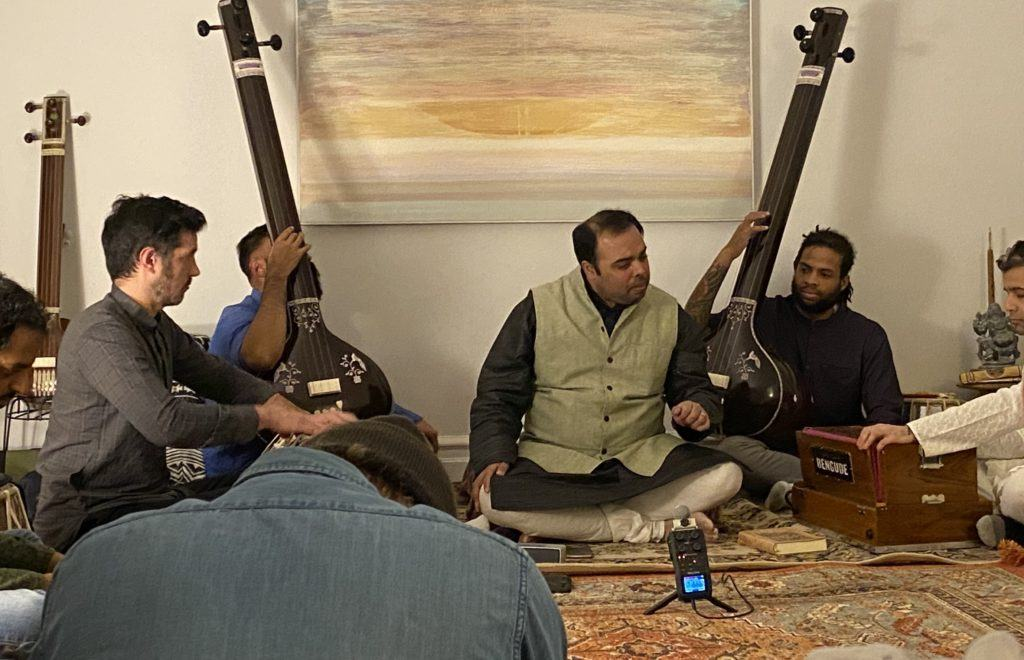 the court series: live indian classical music in a home in brooklyn