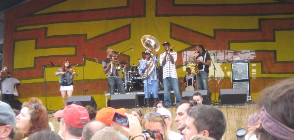 New Orleans Jazz Fest 2010 Amanda Shaw, Trombone Shorty,