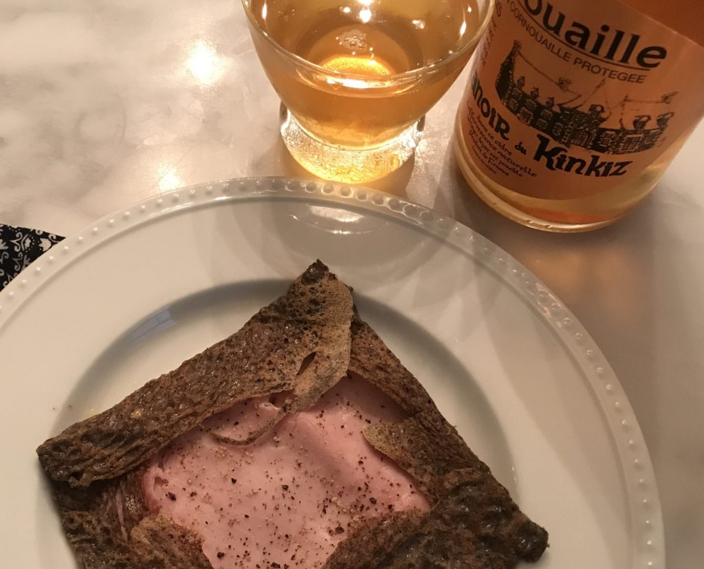 galette de breto et cidre, cider and crepes from brittany