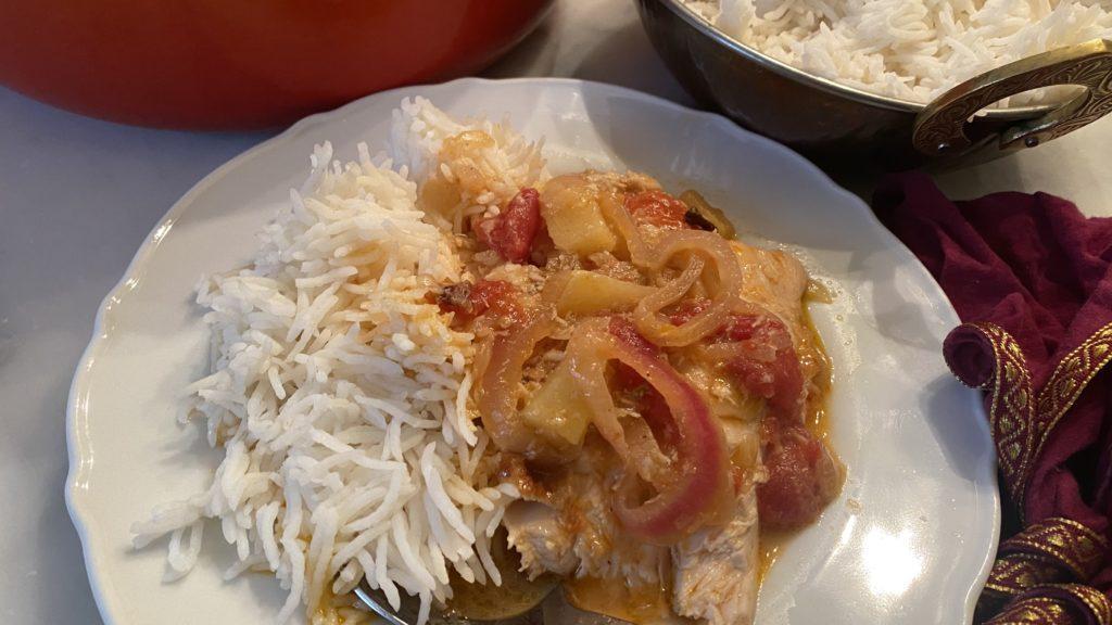 Akoho Masoandro (malagasy Sun Chicken)