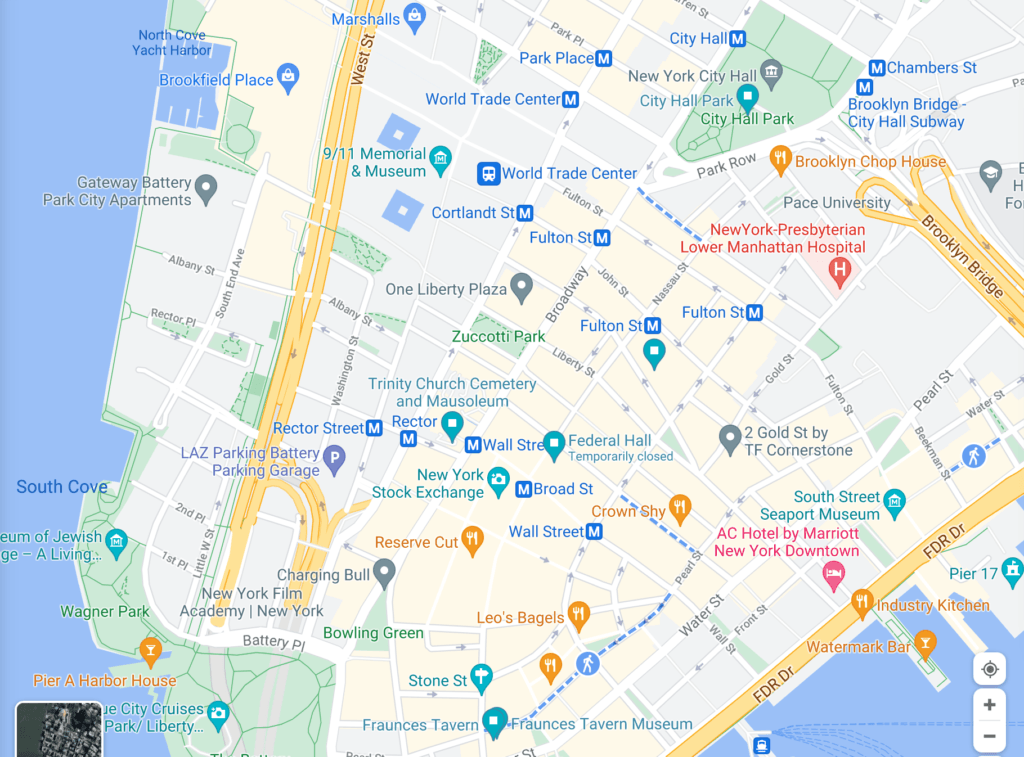 screenshot of hamilton map